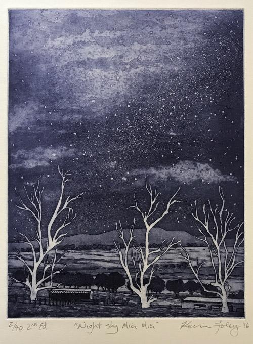 Night Sky Mia Mia by Kevin Foley